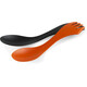 Light My Fire Spork Extra Medium 2 Pack Orange/Black